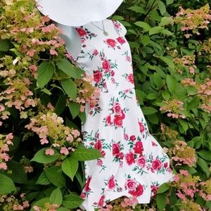 Everything's Coming Up Roses DRESS - H&M